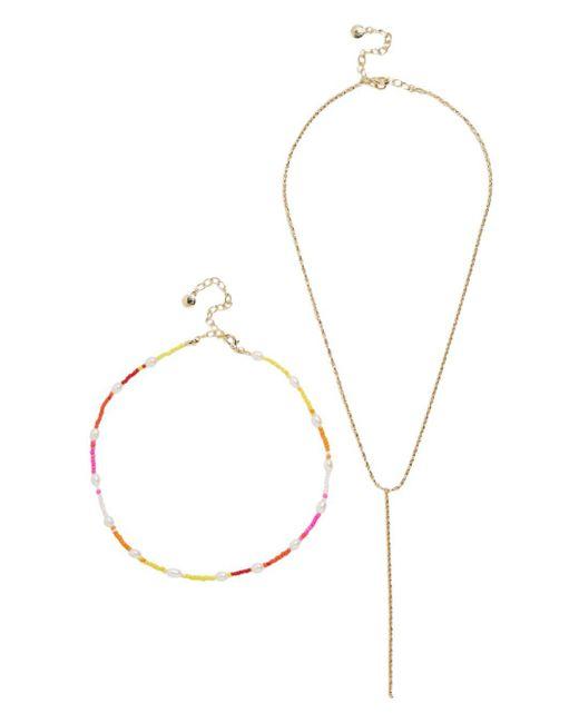 BaubleBar Multicolor Dina Necklaces
