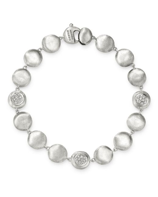 Marco Bicego 18k White Gold Jaipur Diamond Bracelet