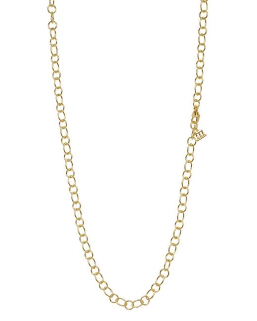 Temple St. Clair - Metallic 18k Yellow Gold Ribbon Chain Necklace - Lyst