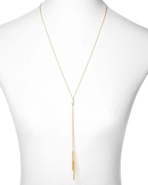 Gorjana Metallic Mave Lariat Necklace