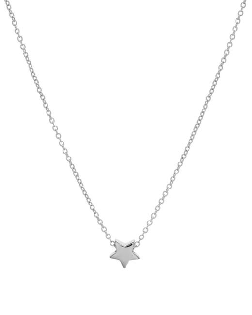 Aqua Metallic Star Pendant Necklace In 14k Gold - Plated Sterling Silver Or Sterling Silver