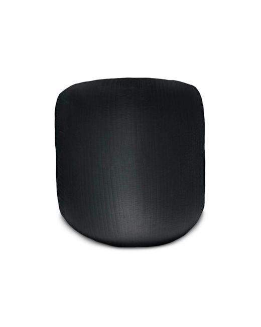 Alexis Bittar Black Textured Lucite Block Ring