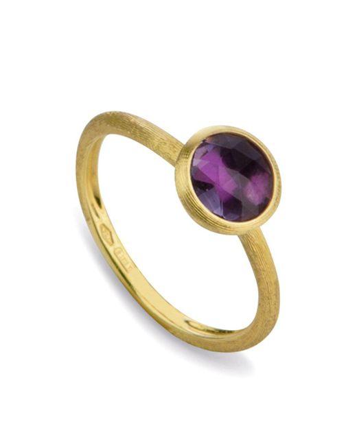 Marco Bicego Metallic Amethyst Stackable Jaipur Ring