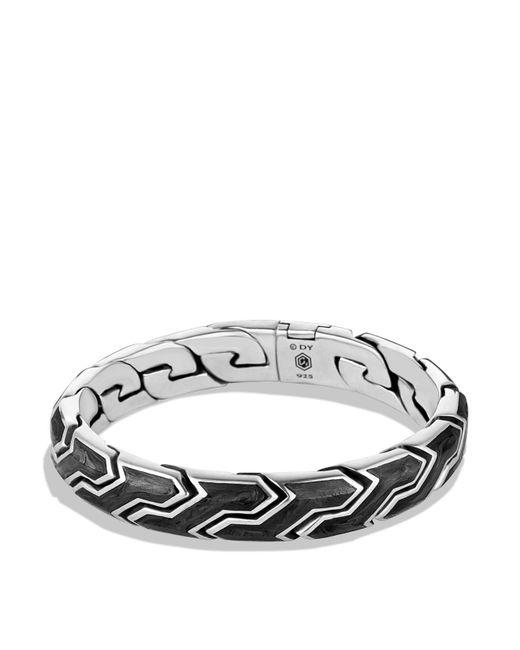 David Yurman - Metallic Forged Carbon Link Bracelet for Men - Lyst