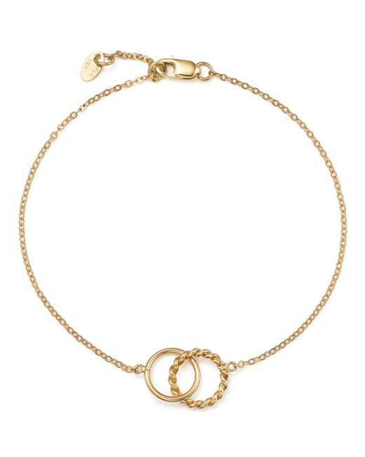 Bloomingdale's - Metallic 14k Yellow Gold Circle Link Bracelet - Lyst