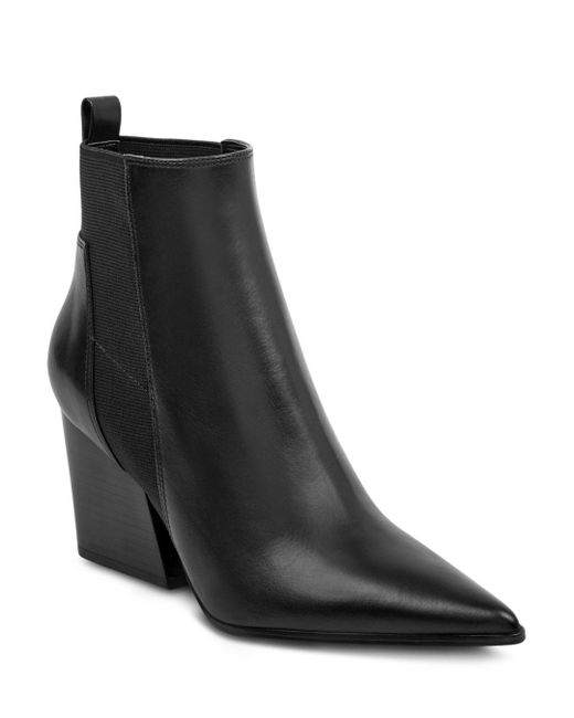 Kendall + Kylie - Black Kendall And Kylie Finch Leather Ankle Boots - Lyst