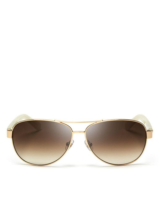 Kate Spade Metallic Women's Dalia Aviator Sunglasses