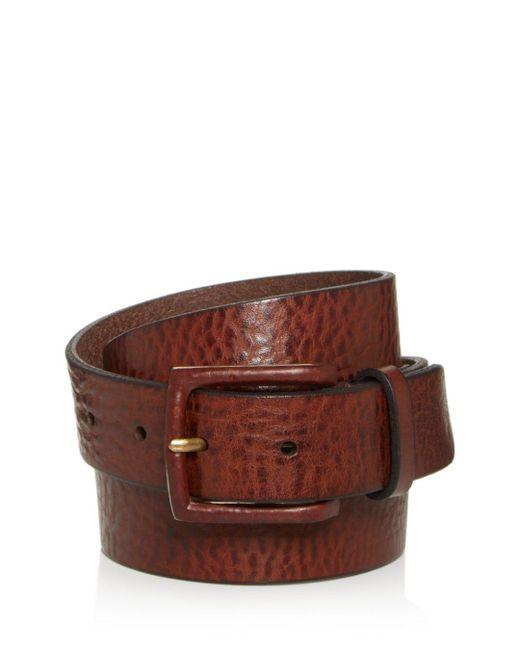 Frye - Brown Chase Leather Belt for Men - Lyst