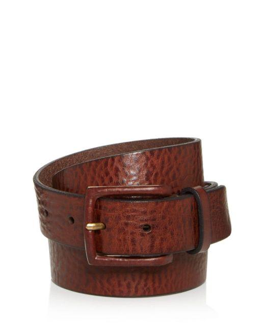 Frye Brown Men's Chase Leather Belt for men