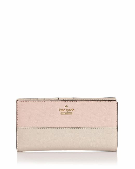Kate Spade - Multicolor Cameron Street Stacy Saffiano Leather Wallet - Lyst