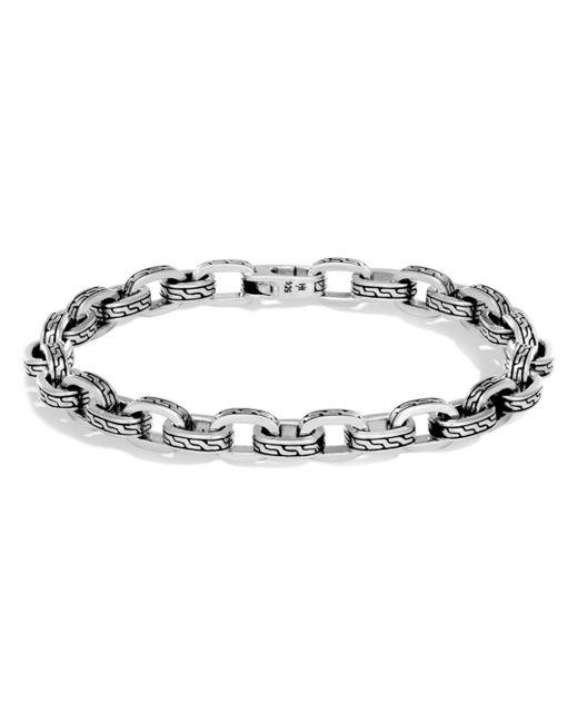 John Hardy - Metallic Men's Sterling Silver Classic Chain Link Bracelet for Men - Lyst