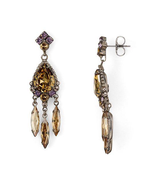 Sorrelli | Multicolor Dangling Post Earrings | Lyst