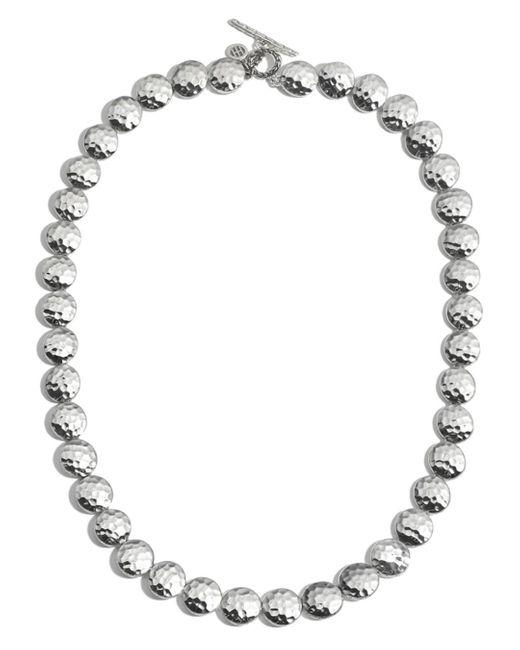 John Hardy - Metallic Sterling Silver Palu Disc Necklace - Lyst