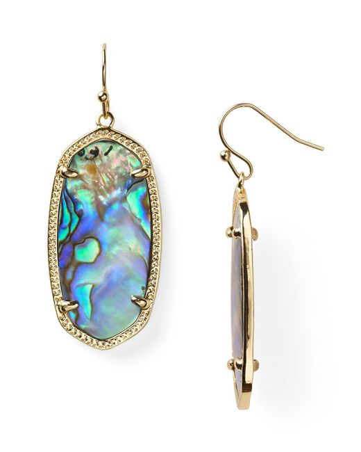 Kendra Scott | Multicolor Signature Elle Earrings | Lyst
