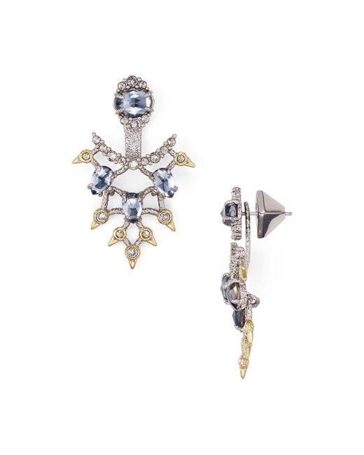 Alexis Bittar | Metallic Crystal Ear Jackets | Lyst