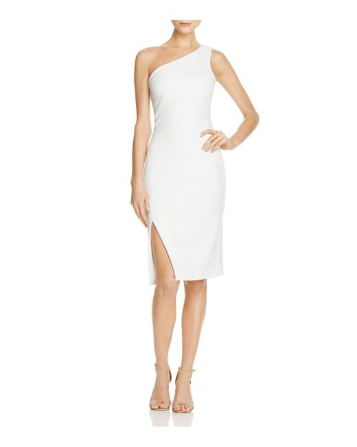 Likely   White Helena One-shoulder Dress   Lyst