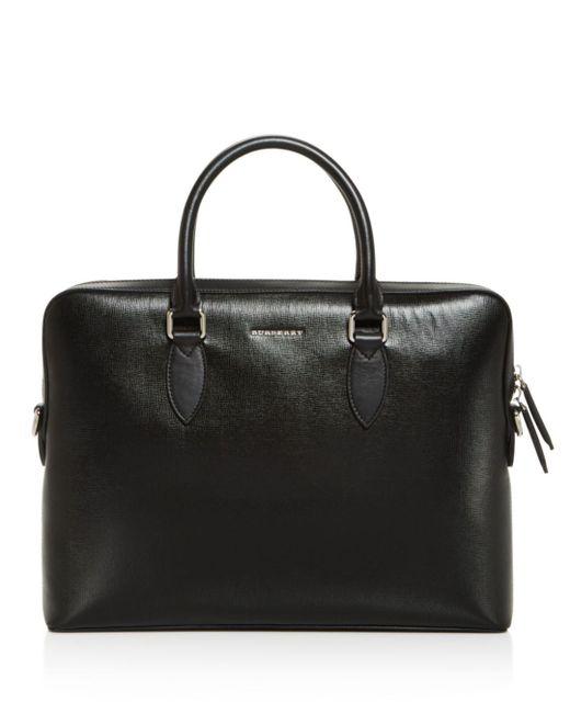 Burberry - Black Bermondsey Slim Briefcase for Men - Lyst
