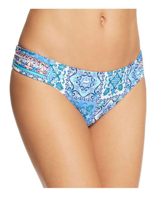 Nanette Lepore - Blue Ensenada Tile Siren Bikini Bottom - Lyst