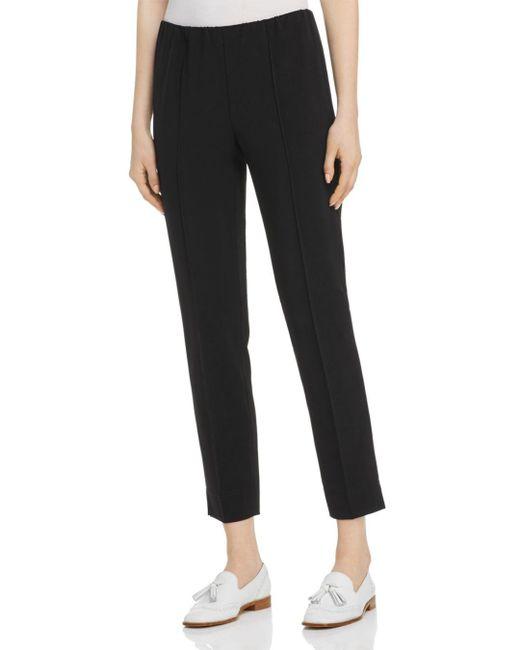 Marella Black Verona Straight - Leg Pants