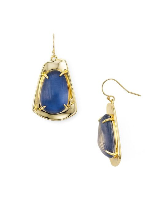 Alexis Bittar | Blue Lucite Drop Earrings | Lyst