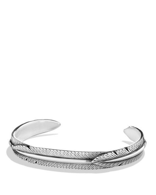 David Yurman - Metallic Feather Wrap Cuff Bracelet for Men - Lyst