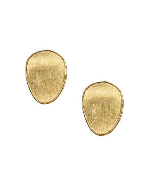 Marco Bicego - Metallic 18k Yellow Gold Lunaria Stud Earrings - Lyst