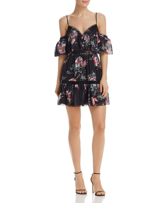 La Maison Talulah - Multicolor Belonging Cold-shoulder Dress - Lyst