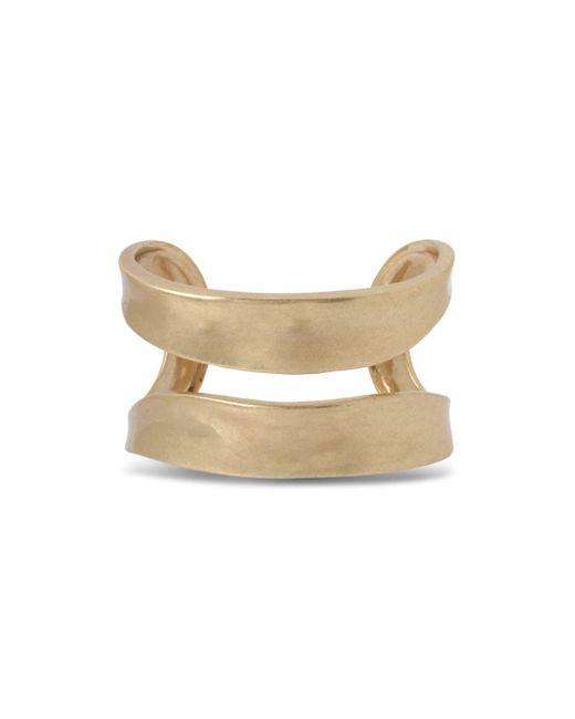 Robert Lee Morris - Metallic Open Cuff Bracelet - Lyst