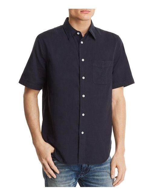 Rag & Bone - Blue Standard Issue Beach Regular Fit Button-down Shirt for Men - Lyst