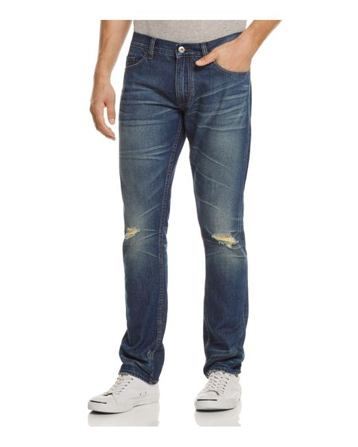 Blank NYC | Slim Fit Jeans In Chicks Dig Blue for Men | Lyst