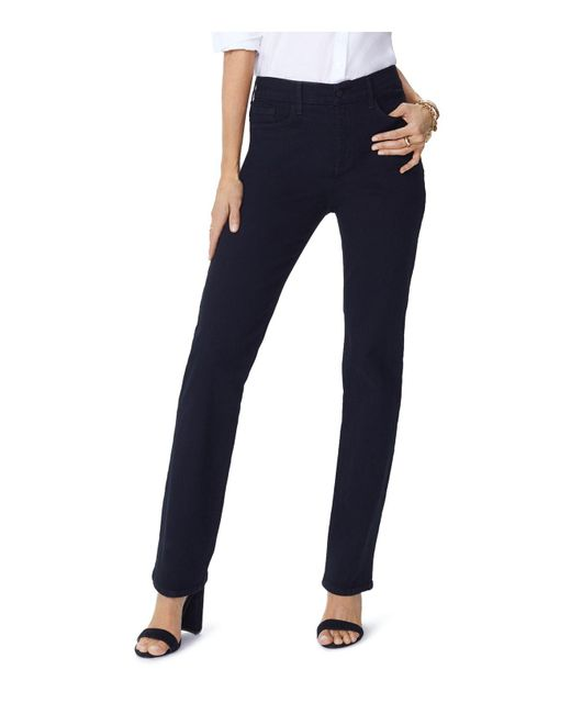 NYDJ - Slim-leg Jeans In Black - Lyst