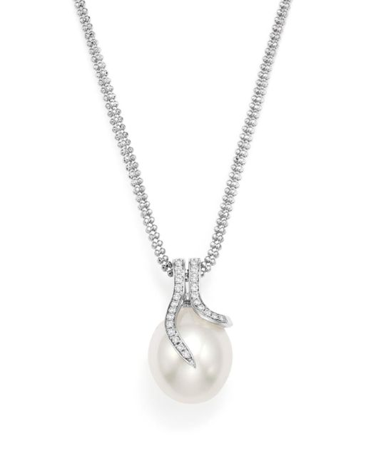 "Tara Pearls - White 18"" - Lyst"