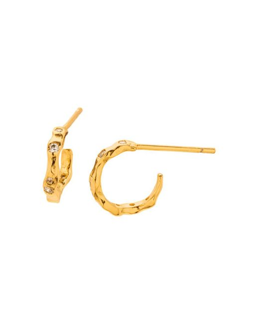 Gorjana - Metallic Collette Mini Hoop Earrings - Lyst