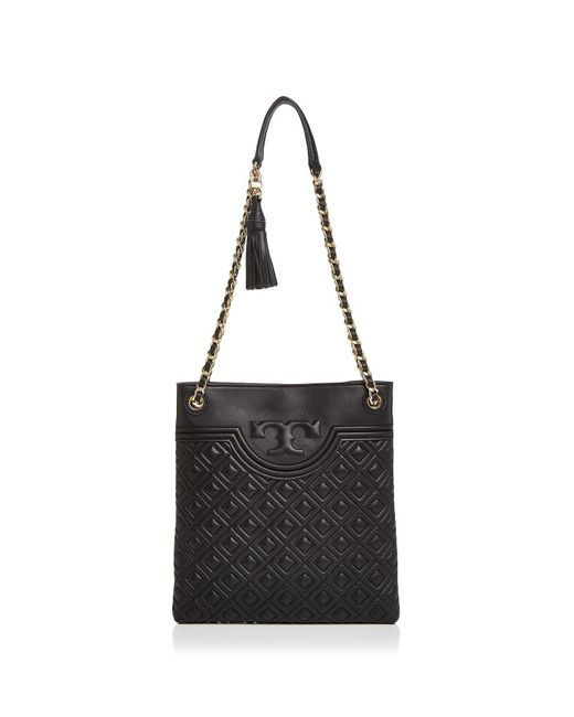 Tory Burch | Black Fleming Swingpack Leather Crossbody | Lyst