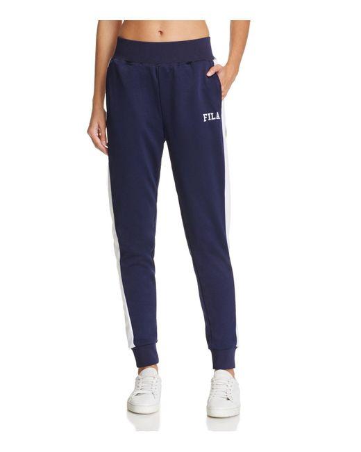 Fila | Blue Kimbo Jogger Pants | Lyst