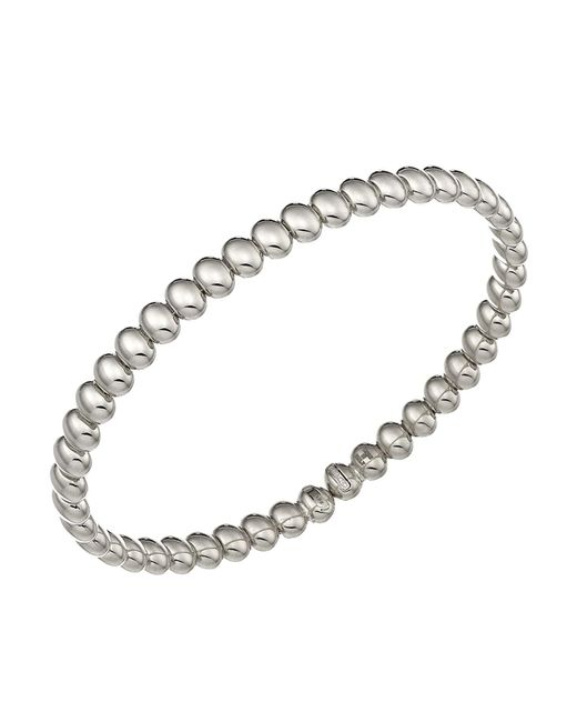 Chimento | Metallic 18k White Gold Armillas Acqua Collection Bead Link Bracelet | Lyst