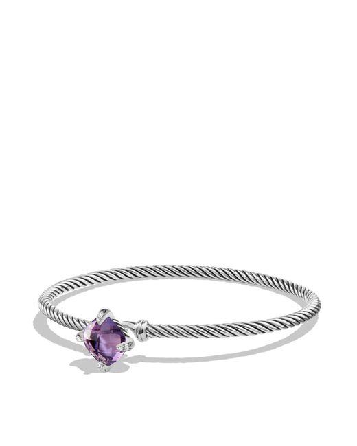 David Yurman - Metallic Châtelaine Bracelet With Amethyst And Diamonds - Lyst