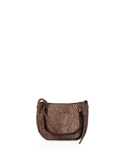 Kooba Metallic Monteverde Leather Mini Crossbody