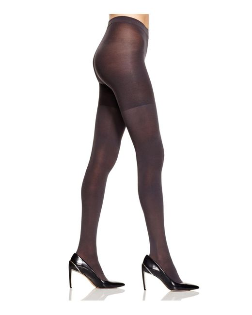Spanx - Gray Luxe Leg Tights - Lyst