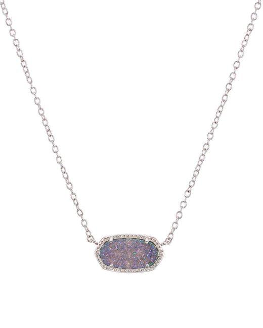 Kendra Scott Metallic Elisa Drusy Necklace