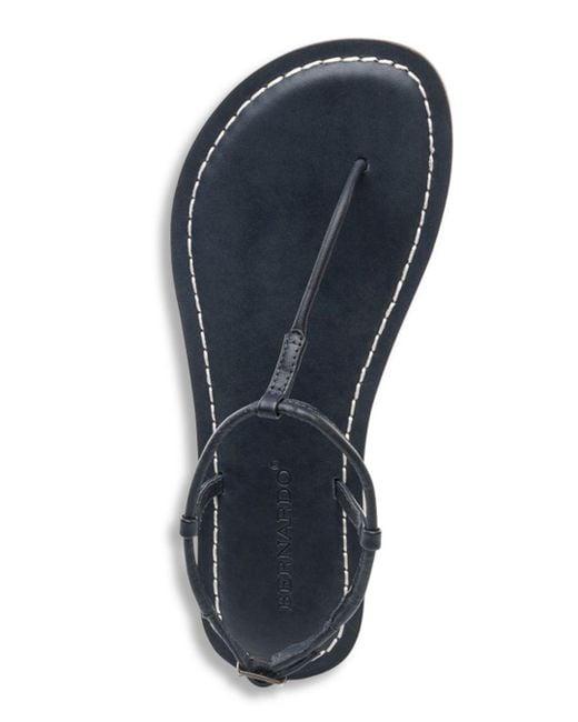 a17e8538cc6 ... Bernardo - Multicolor Lilly T-strap Thong Sandals - Lyst