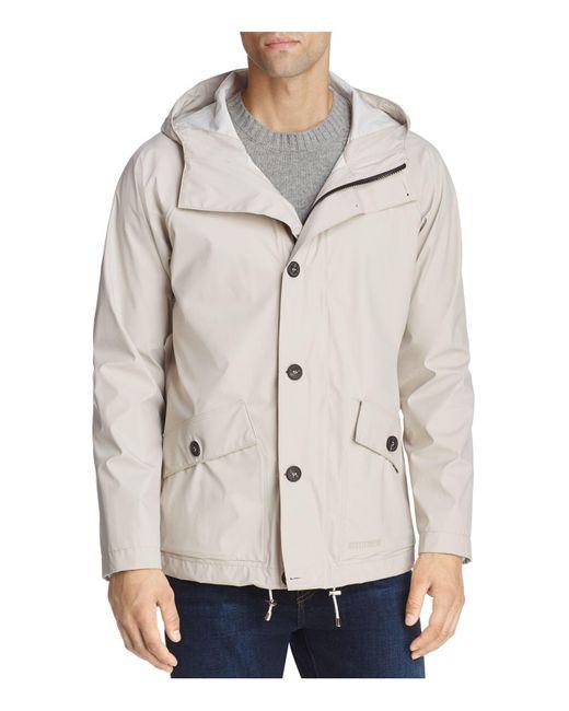 Stutterheim | Natural Stenhamra Lightweight Hooded Rain Coat for Men | Lyst
