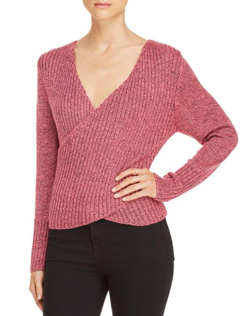 C/meo Collective - Pink Evolution Crossover Sweater - Lyst
