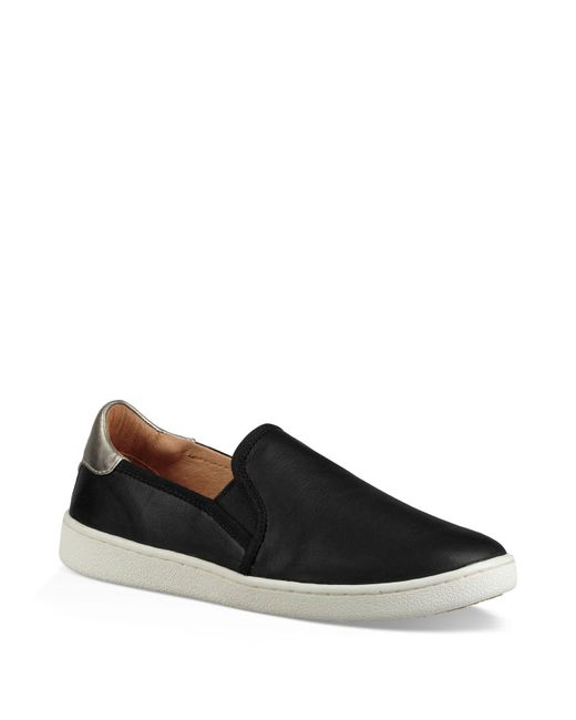 Lyst Ugg Cas Slip On Sneakers In Black For Men