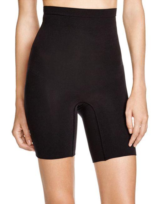 Spanx - Black Higher Power Shorts - Lyst