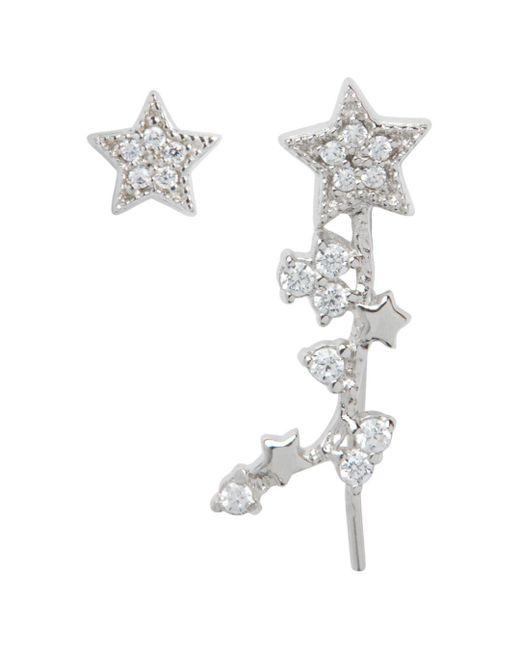 Olivia Burton - Metallic Celestial Star Ear Crawler & Stud Earring Set - Lyst
