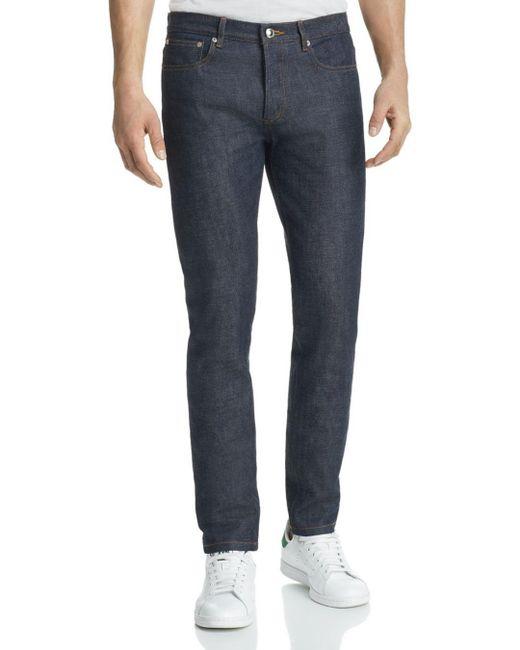 A.P.C. Blue Petit New Standard Jean for men