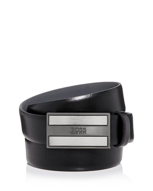 BOSS Black Men's Bexter 3.0 Leather Belt for men