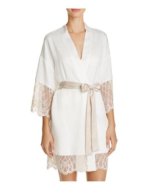 Flora Nikrooz | White Gabby Kimono Robe | Lyst