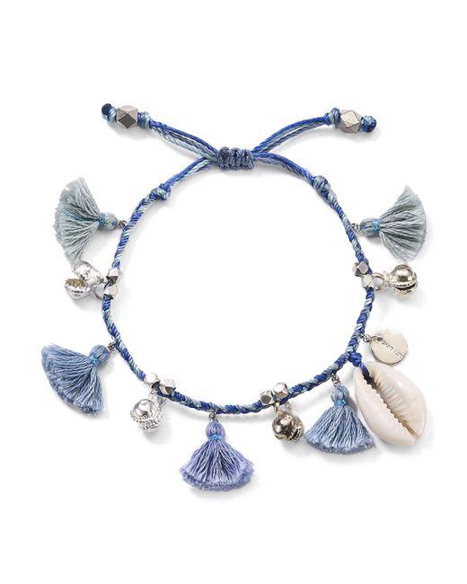 Chan Luu | Blue Tassel & Shell Bracelet | Lyst